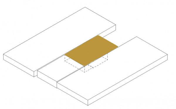 Matratzentopper Mittelteil oben (SA Kleiderschrank)