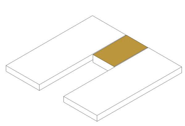 Matratzentopper Mittelteil oben (Serie)