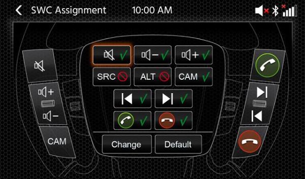 Kit multimédia (navigation + caméra)